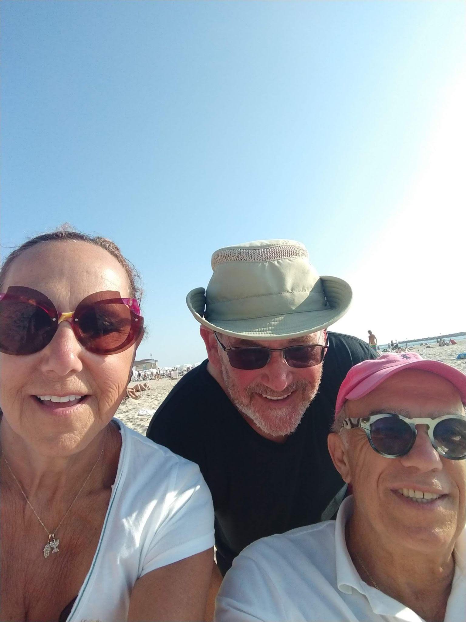 Beach in Tel Avie