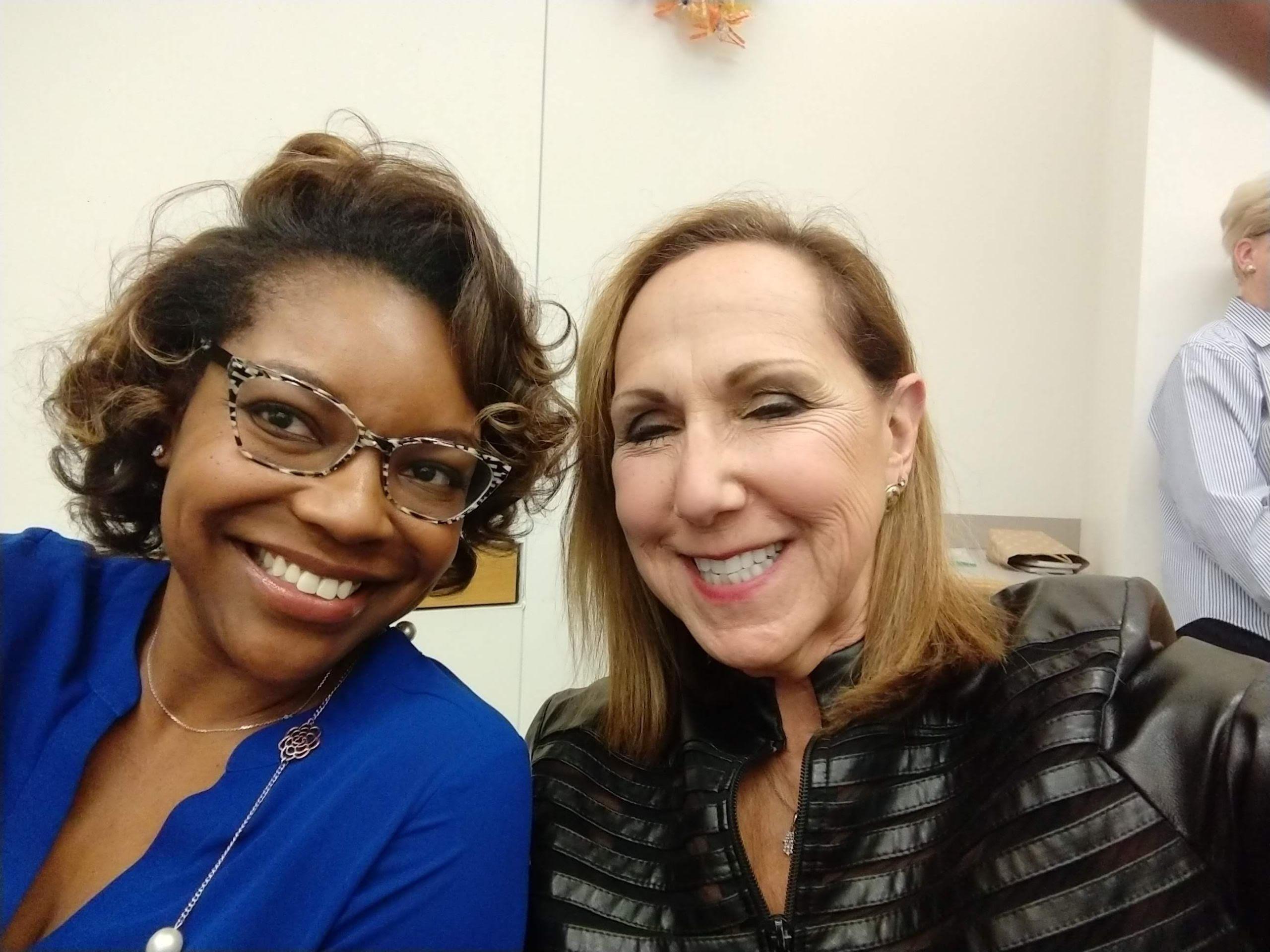 Leslie with Ohio House of Representatives, Emilia Sykes