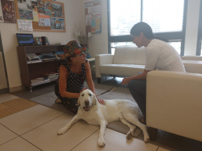 Visited Guide Dogs of Israel